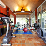 Gym at Dara Drug and Alcohol Rehabilitation Centre, Koh Chang, Trat, Thailand