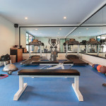 Gym at Dara Drug and Alcohol rehabilitation centre, Chanthaburi, Thailand