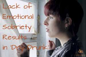 lack of emotional sobriety