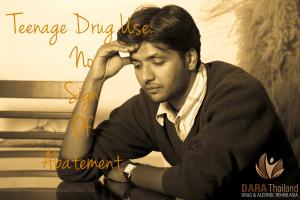 Teenage Drug Use No sign of Abatement